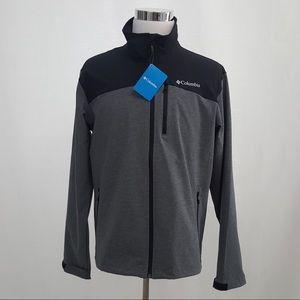 Columbia Men's Miller Peak Softshell Jacket L NWT